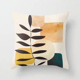 Abstract Elements 20 Throw Pillow