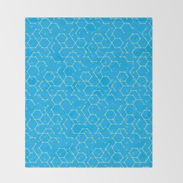Atom boy Throw Blanket