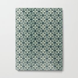 Acqua tiles Metal Print
