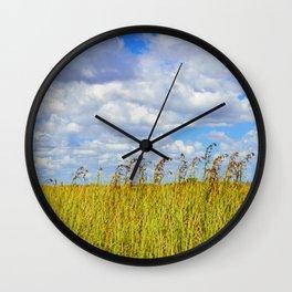 Clouded Sky Wall Clock