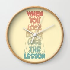 Life Lesson # 2 Wall Clock