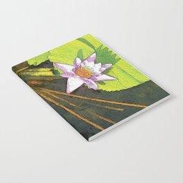 Water Lilies FTBG op Notebook