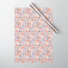 Fox Moon Wrapping Paper