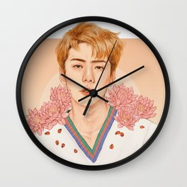lotus [sehun exo] Wall Clock