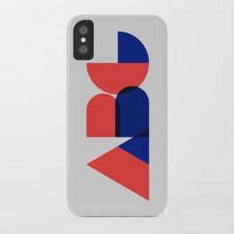 Geometric ABC iPhone Case
