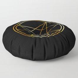 Occult symbol- Order of Nine Angles symbol Floor Pillow
