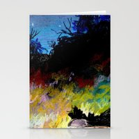 twilight Stationery Cards featuring Twilight by Ivanka Costru