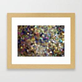 We Are Shining Framed Art Print