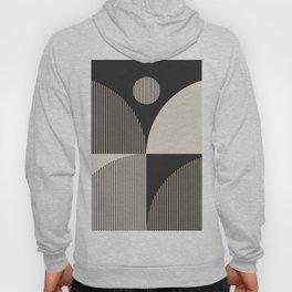 Abstraction_SUN_BOHEMIAN_BLACK_LINE_POP_ART_M100A Hoody