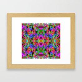 Abstract Kundalini Awakening Framed Art Print