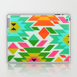Ethnic with a tropical summer vibe Laptop & iPad Skin