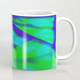 Green Color Package Coffee Mug