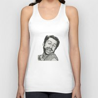 charlie Tank Tops featuring Charlie by Molly Morren
