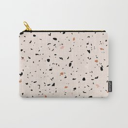 Warm Terrazzo 3 Carry-All Pouch