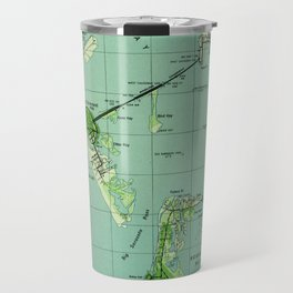 Vintage map of Sarasota Florida (1944) Travel Mug