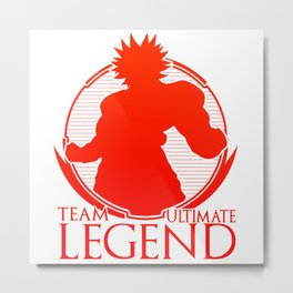 Team Ultimate Legend Metal Print