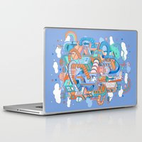 kpop Laptop & iPad Skins featuring George's place by Polkip