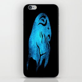 Deep one Blue iPhone Skin