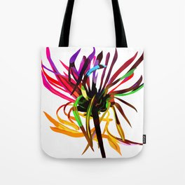 Flower 6 (electric) Tote Bag