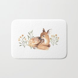 Meadow and Fawn Bath Mat