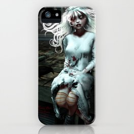 """""""Lacey Malice"""" by MiaSnow and Trin iPhone Case"""