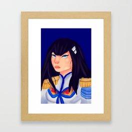 Satsuki Kiryuin Framed Art Print