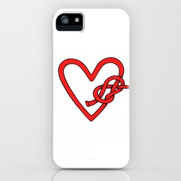 knot in love iPhone Case