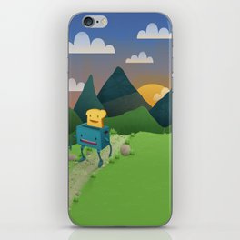 Over The Hills iPhone Skin