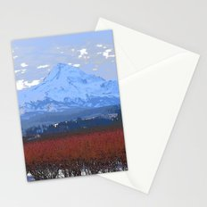 Mt Hood in Winter Stationery Cards