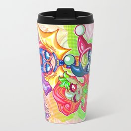 Chibi Gotham Girls Travel Mug