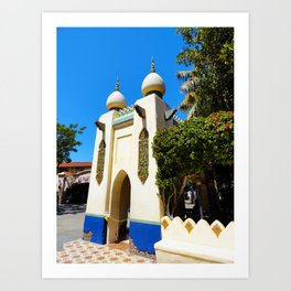 Persian Oasis Art Print