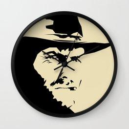 Blondie ( Clint Eastwood ) Wall Clock