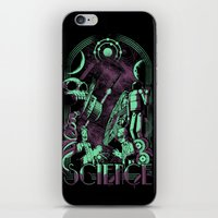 science iPhone & iPod Skins featuring Science by Fuacka