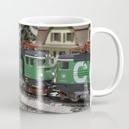 Green Cargo Coffee Mug