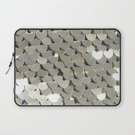 Shiny Silver Sequins Laptop Sleeve