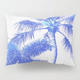 Blue Palm Paradise Pillow Sham