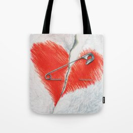 Unbroken by Lars Furtwaengler | Colored Pencil | 2016 Tote Bag