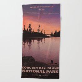 Georgian Bay Islands National Park Beach Towel