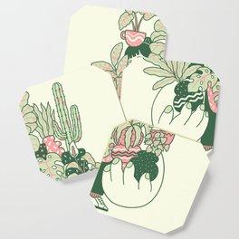 Plants Club (girl) Coaster