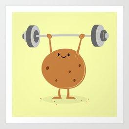 One Tough Cookie Art Print