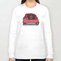 thundercats Long Sleeve T-shirts featuring  thundera university by Buby87