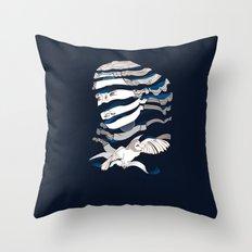 Sarah Unraveled Throw Pillow