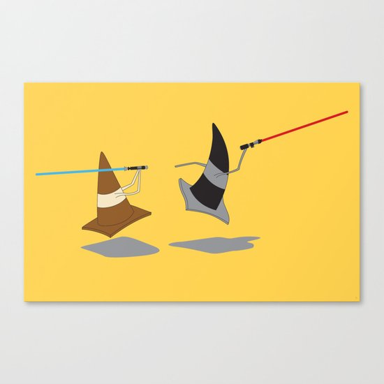 The Cone Wars Canvas Print