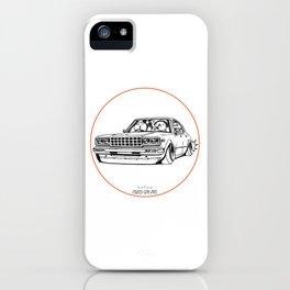 Crazy Car Art 0210 iPhone Case