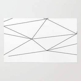 Polygons Rug