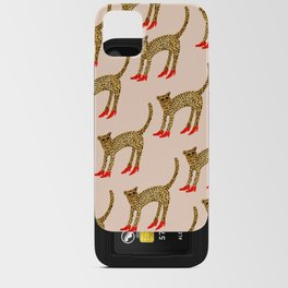 The Original Cheetah In Heels iPhone Card Case
