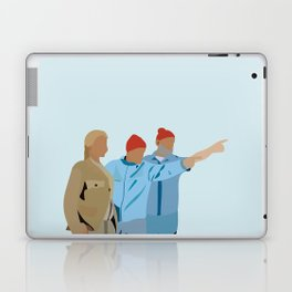 The Life Aquatic with Steve Zissou: Minimalist Poster Laptop & iPad Skin