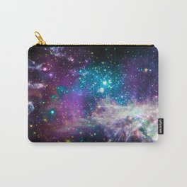 Colorful Sparkling Stars Nursery Carry-All Pouch