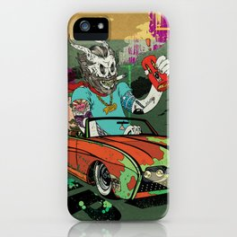 Arch Rival iPhone Case