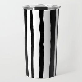 Into the Woods Stripes black Travel Mug